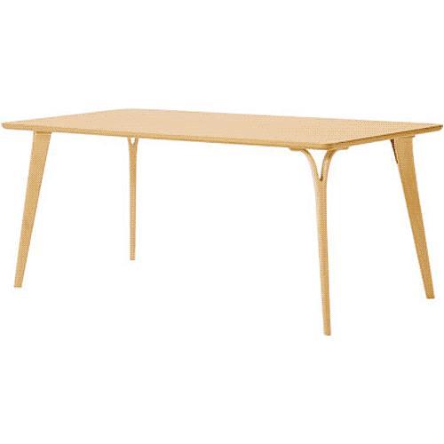 天童木工 DAN テーブル T-2735NA-NT ホワイトビーチ(ナチュラル)