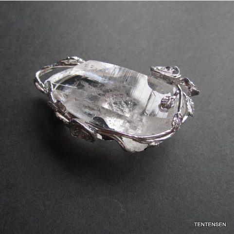 ガネーシュヒマール水晶シルバーペンダント ten-ten-sen 05