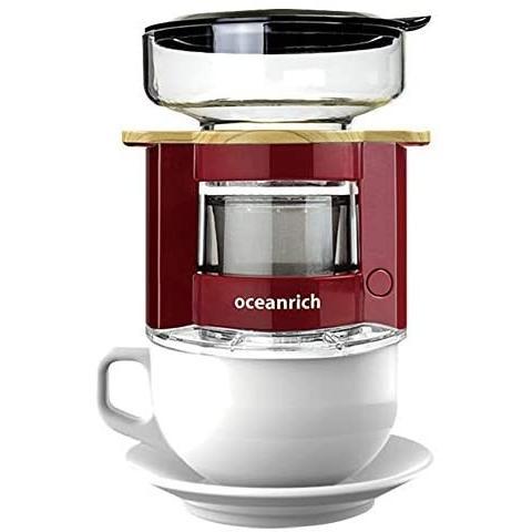 オーシャンリッチ(Oceanrich) 自動ドリップ・コーヒーメーカー レッド UQ-CR8200RD (レッド 単品)|tenbin-do|04