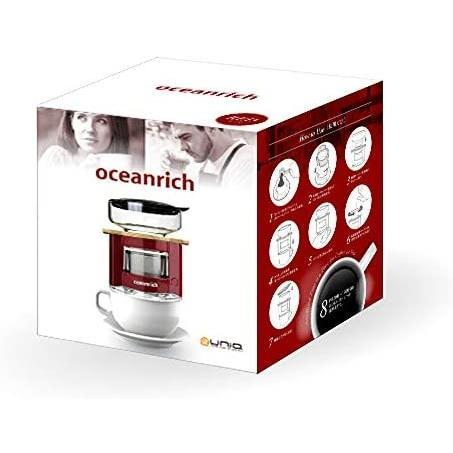 オーシャンリッチ(Oceanrich) 自動ドリップ・コーヒーメーカー レッド UQ-CR8200RD (レッド 単品)|tenbin-do|07
