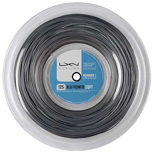 ルキシロン ビッグバンガー アルパワー ソフト (1.25mm) 200Mロール 硬式テニス ポリエステル ガット(Luxilon BB ALU POWER SOFT 200m String Reel) WRZ990102