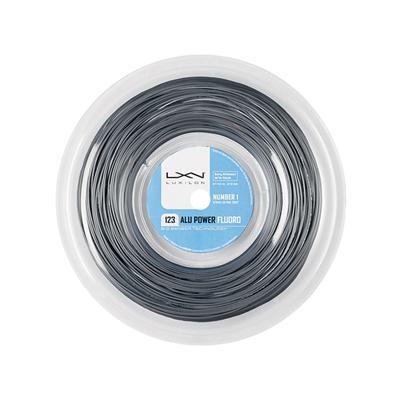 ルキシロン ビッグバンガー アルパワー フローロ (1.23mm) 220Mロール 硬式テニス ポリエステル ガット(Luxilon BB ALU POWER FLUORO 220m String Reel) WRZ9908