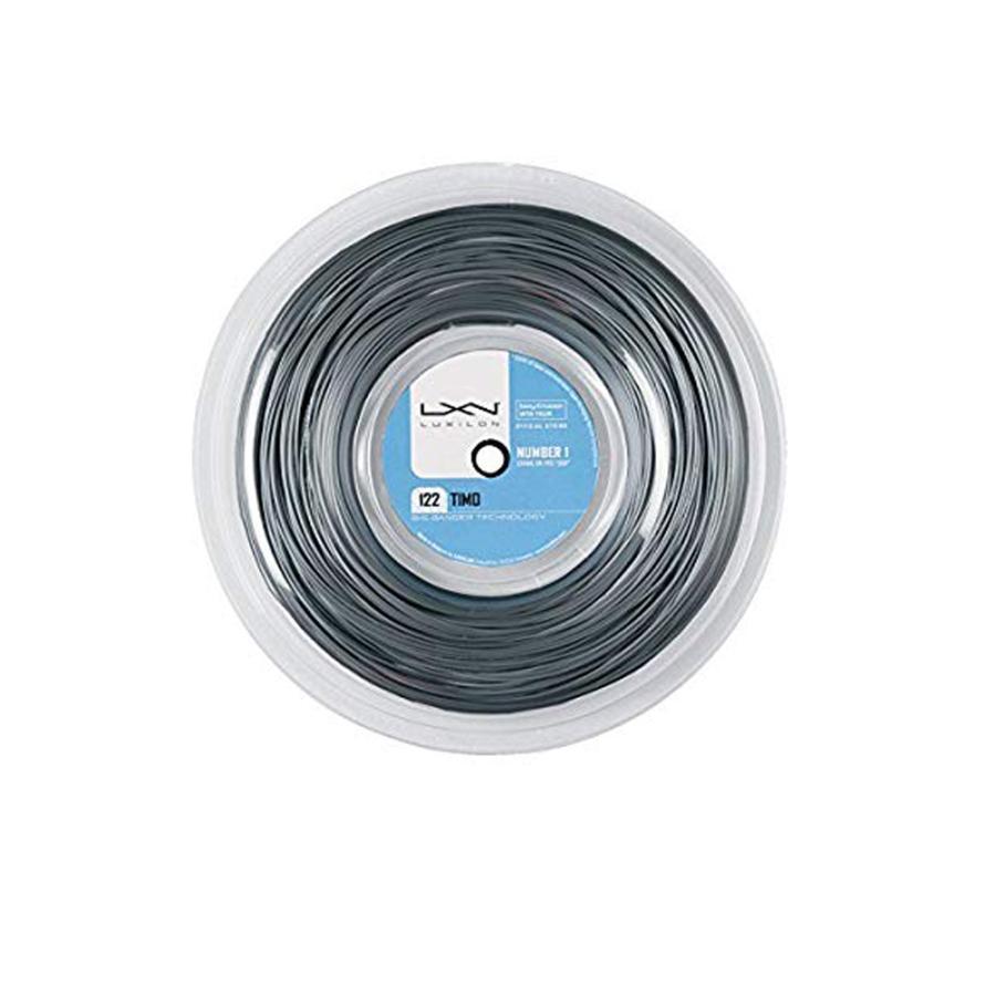 ルキシロン ビッグバンガー ティモ (1.22mm) 200Mロール 硬式テニス ポリエステル ガット(LUXILON BB TIMO 200m String Reel) WRZ9902
