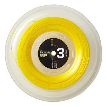 GOSEN(ゴーセン)ストリング G-TOUR3(ジー・ツアー3) 17GA(1.23mm) ロール TSGT312SY