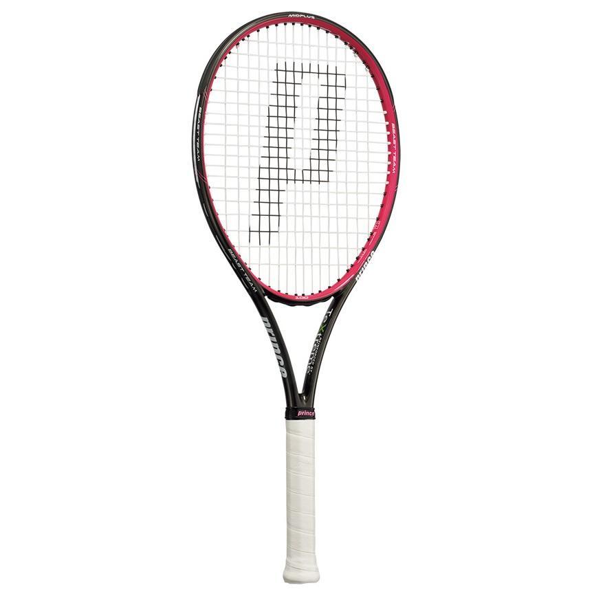 プリンス(Prince)テニスラケット ビースト チーム 100(BEAST TEAM 100)280g ブラック×マゼンタ 7TJ071 ※スマートテニスセンサー対応モデル