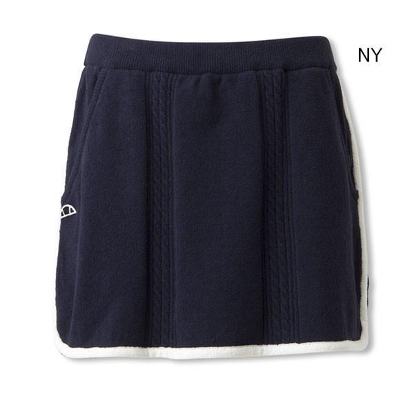 【SALE★30%OFF、在庫限り】エレッセ(ellesse) クラブテックモールスカート EW28313