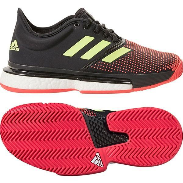 【SALE★30%OFF、在庫限り】アディダス(adidas) テニスシューズ ソールコートブースト W マルチコート(SOLECOURT BOOST W MC) G26297