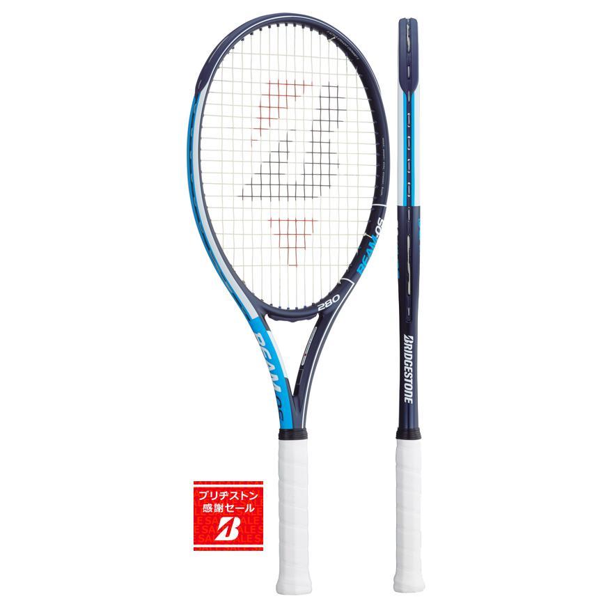 芸能人愛用 【発売開始】ブリヂストン(BRIDGESTONE) テニスラケット ビームオーエス(BEAM-OS)280青 BRABM2, オウミハチマンシ d5d1a60f