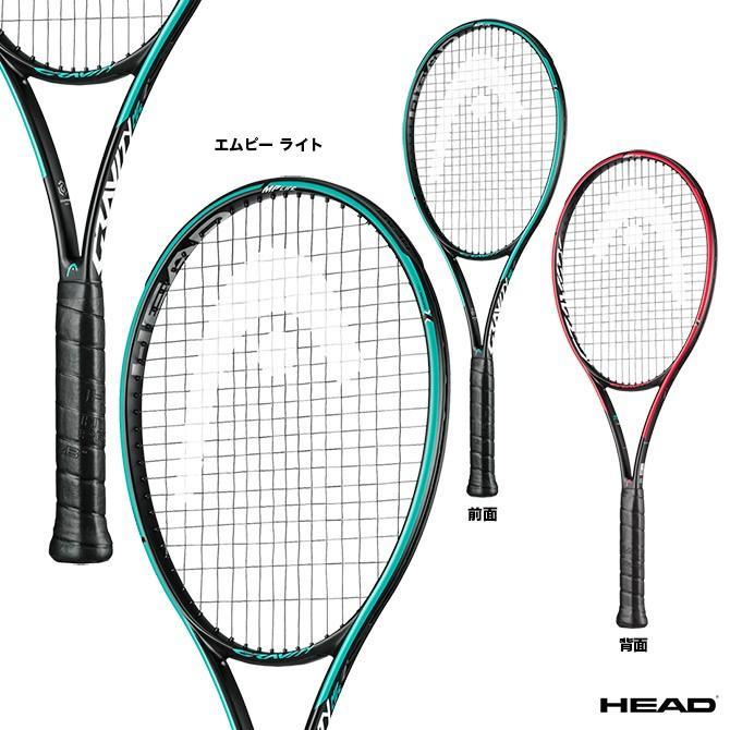 ヘッド(HEAD) テニスラケット Graphene 360+ GRAVITY MP LITE グラフィン360+ グラビティ エムピー ライト 234239