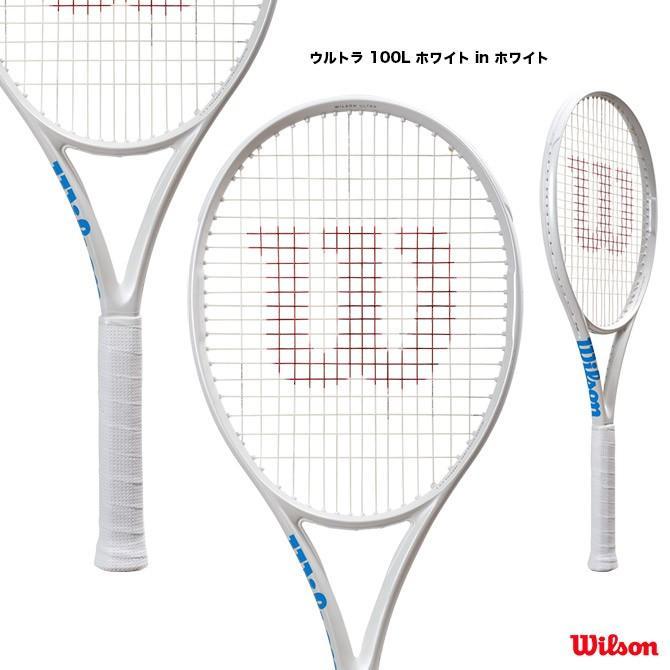 ウイルソン(Wilson) テニスラケット ウルトラ 100L ホワイト in ホワイト ULTRA 100L 白い in 白い WR011111