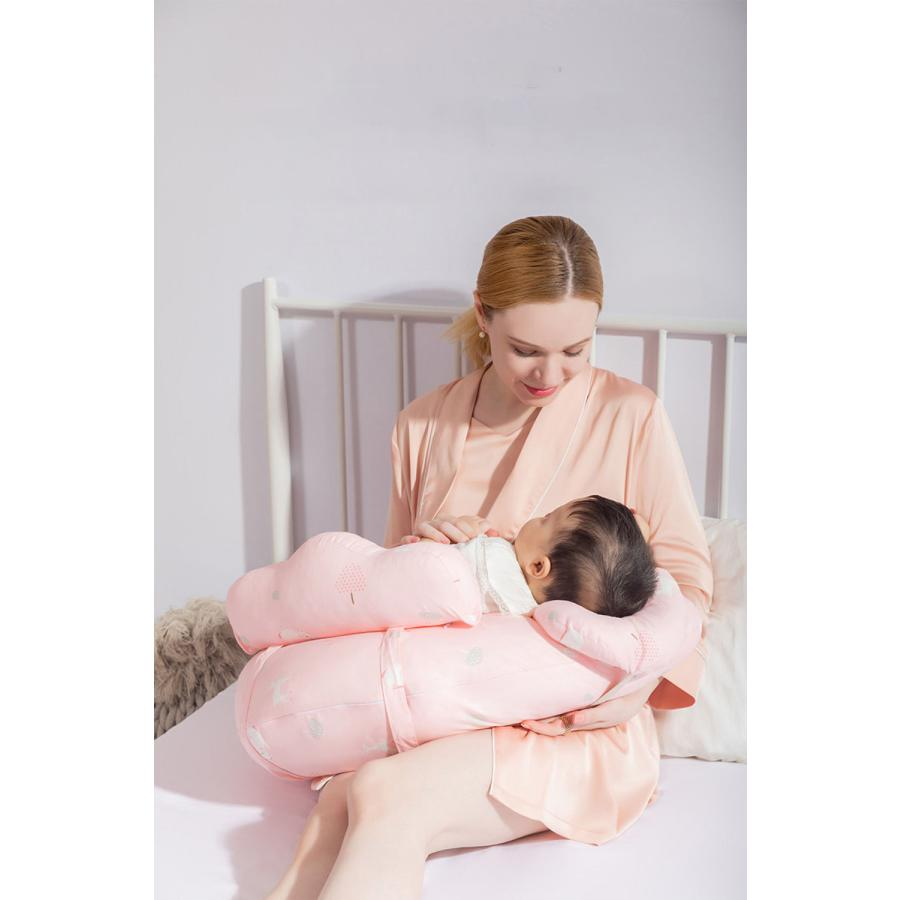 授乳クッション 授乳 授乳枕 クッション  抱き枕 安眠 快眠 お座りクッション 洗える 妊婦さんのための抱き枕 妊娠中|tennis-venue