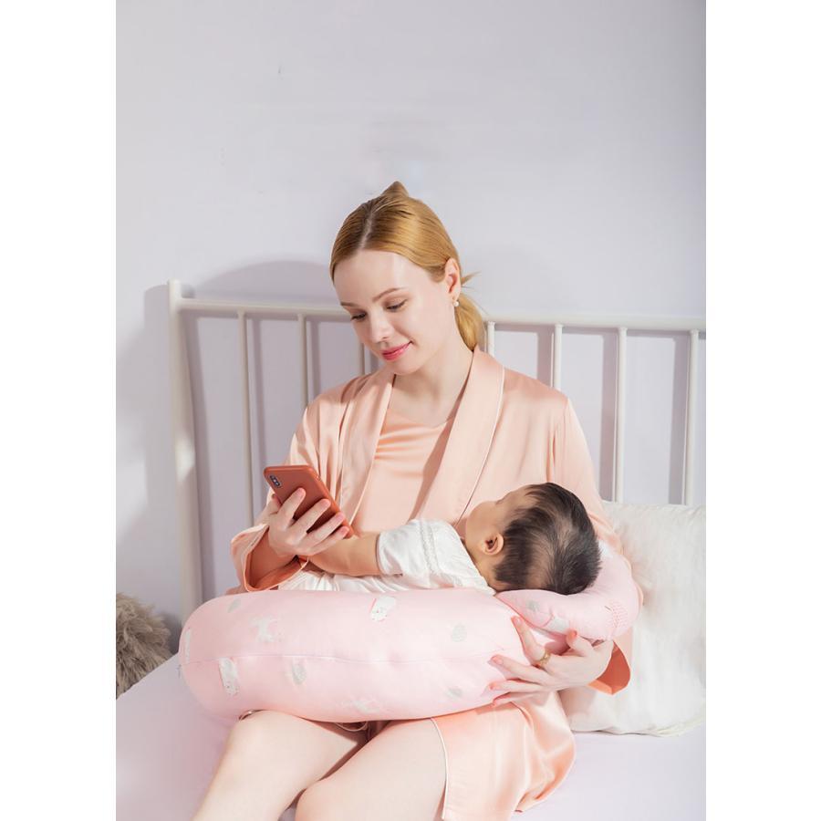 授乳クッション 授乳 授乳枕 クッション  抱き枕 安眠 快眠 お座りクッション 洗える 妊婦さんのための抱き枕 妊娠中|tennis-venue|02