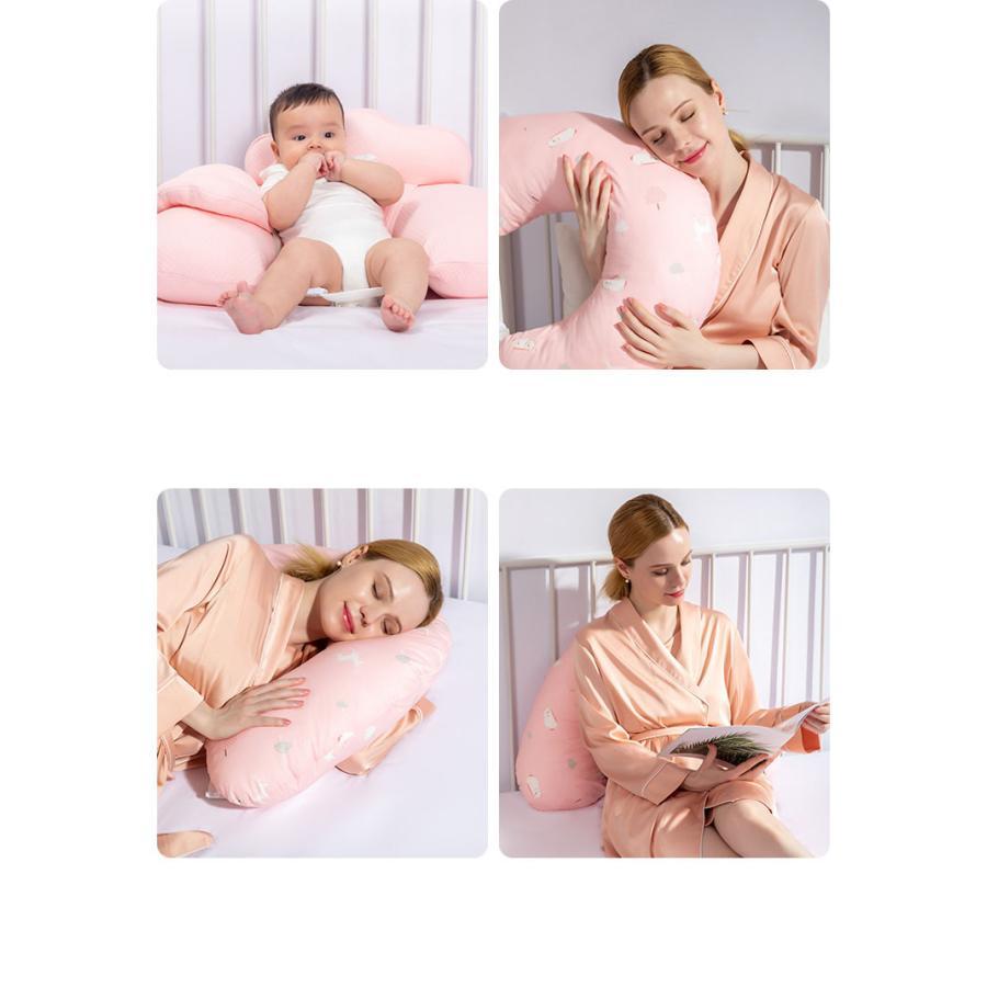 授乳クッション 授乳 授乳枕 クッション  抱き枕 安眠 快眠 お座りクッション 洗える 妊婦さんのための抱き枕 妊娠中|tennis-venue|04