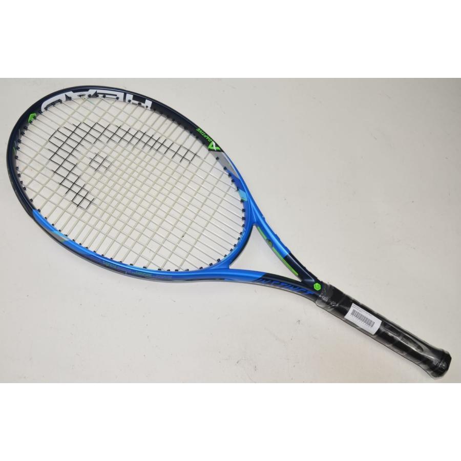 中古 テニスラケット HEAD GRAPHENE TOUCH INSTINCT ADAPTIVE 2017【スマートテニスセンサー非対応】 (G1)