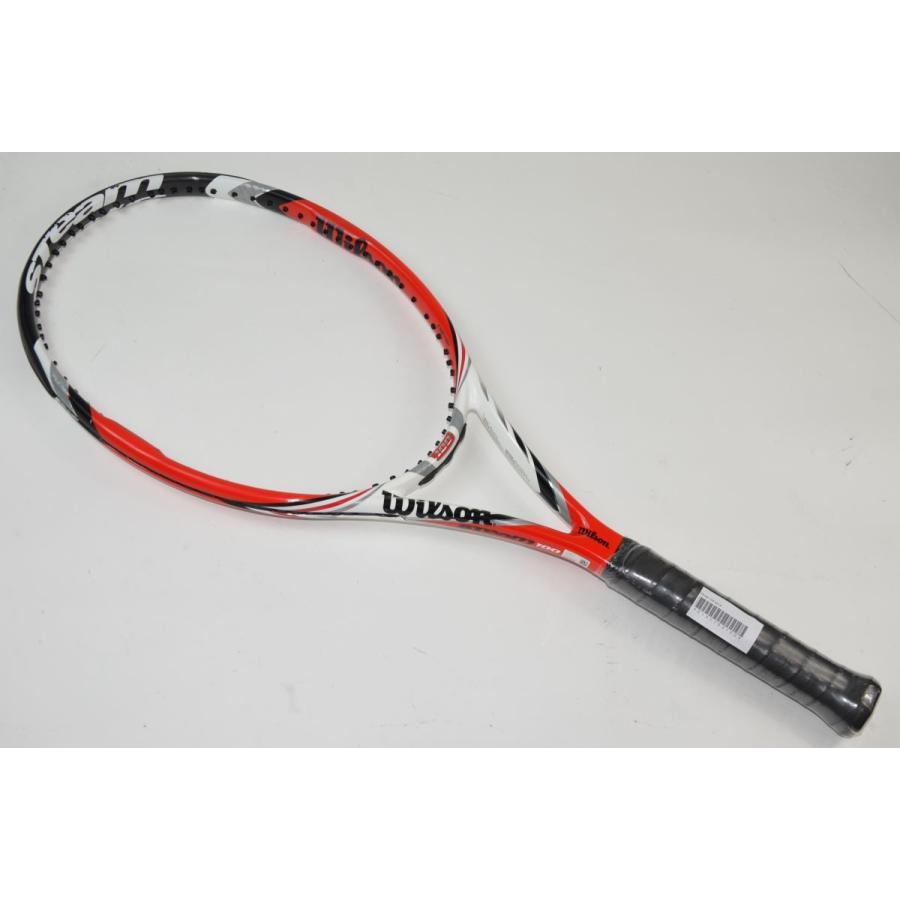 中古 テニスラケット WILSON STEAM 100 2014 (L3)