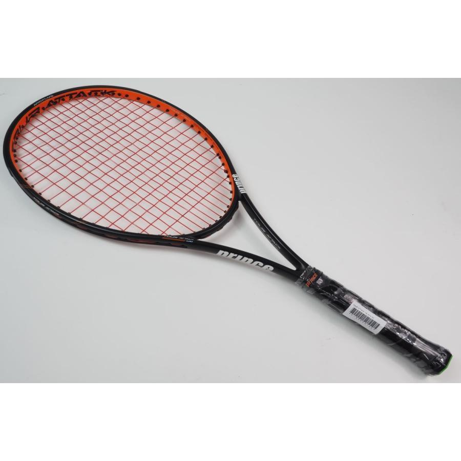中古 テニスラケット PRINCE TOUR ATTACK 100 2016 (G2)