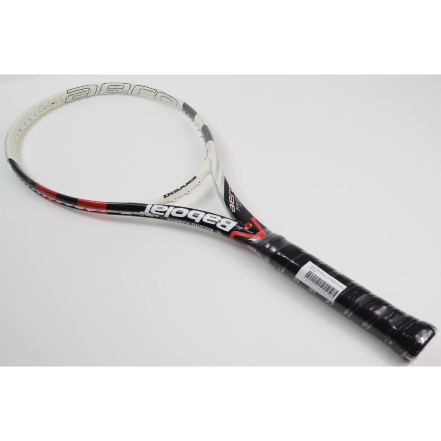 中古 テニスラケット BABOLAT AERO PRO DRIVE LITE FRENCH OPEN 2012【トップバンパー割れ有り】 (G3)