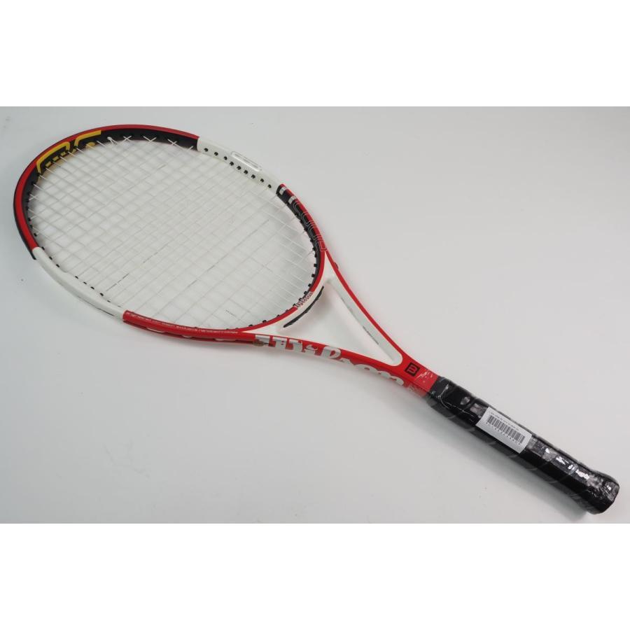 中古 テニスラケット WILSON n SIX-ONE 95 16×18 2005 (G2)