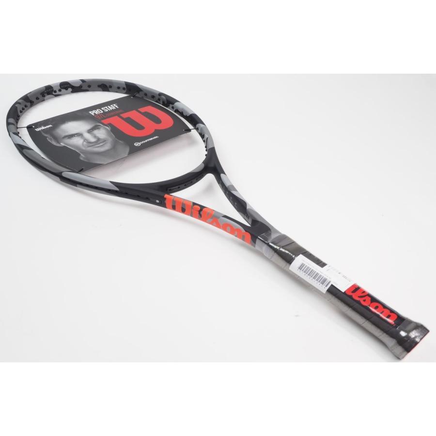 中古 テニスラケット WILSON PRO STAFF 97L CV CAMO 2018 (G2)
