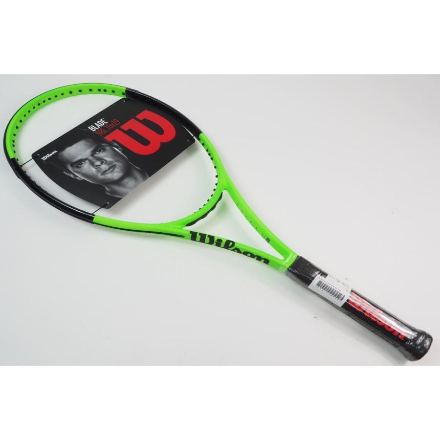 中古 テニスラケット WILSON BLADE 98L REVERSE 2017 (G2)
