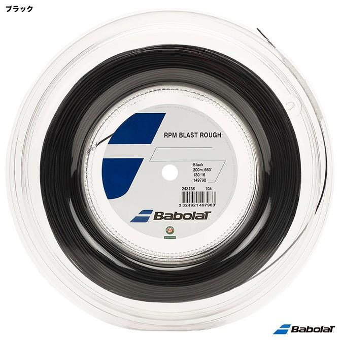 正規店仕入れの バボラ ロール BabolaT バボラ テニスガット ロール RPMブラストラフ(RPM BLAST ROUGH) BA243136 130 ブラック BA243136, ヴェニスの商人:f4903ad2 --- airmodconsu.dominiotemporario.com