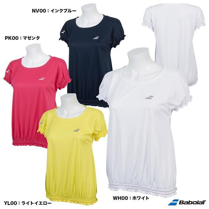 バボラ(BabolaT) テニスウェア レディース ショートスリーブシャツ BTWNJA15