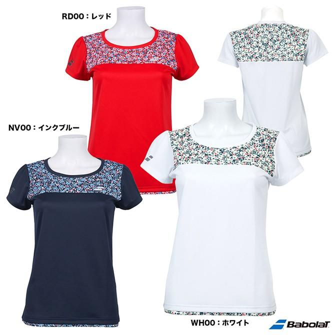 バボラ(BabolaT) テニスウェア レディース ショートスリーブシャツ BTWOJA11