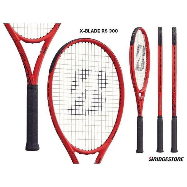 ブリヂストン(BRIDGESTONE) テニスラケット エックスブレード アールエス 300(X-BLADE RS 300) BRARS4