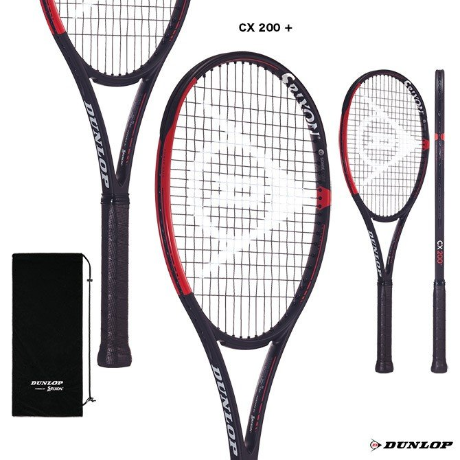 【爆売り!】 ダンロップ ダンロップ DUNLOP テニスラケット CX 200 CX + プラス CX 200 + DS21903, TANI INTERNATIONAL STORE:846e9868 --- airmodconsu.dominiotemporario.com