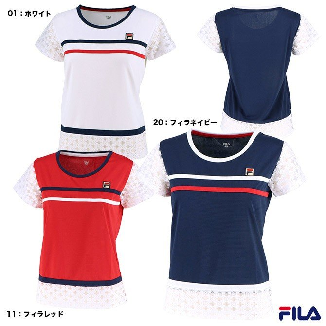 フィラ(FILA) テニスウェア レディース ゲームシャツ VL1955