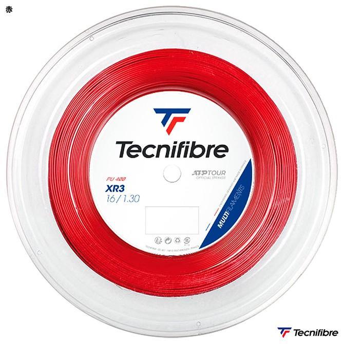 テクニファイバー(Tecnifibre) テニスガット ロール エックスアール3(XR3) 130 赤 TFR216