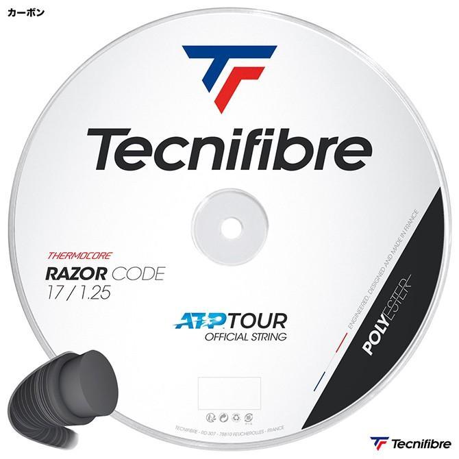 品多く テクニファイバー Tecnifibre テニスガット ロール レーザーコード(RAZOR CODE) 125 カーボン TFR401, タンスのゲン DESIGN THE FUTURE 06552d45