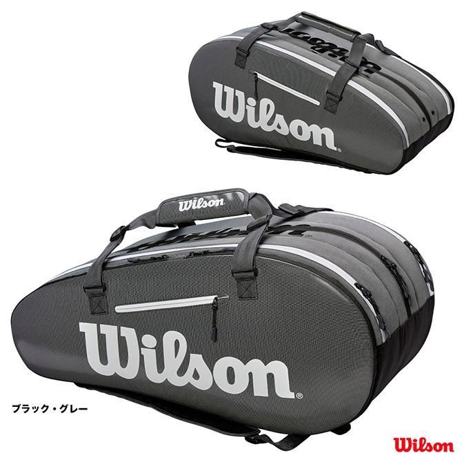 ウイルソン(Wilson) テニスバッグ スーパー ツアー 3 COMP(ブラック・グレー) WRZ843915