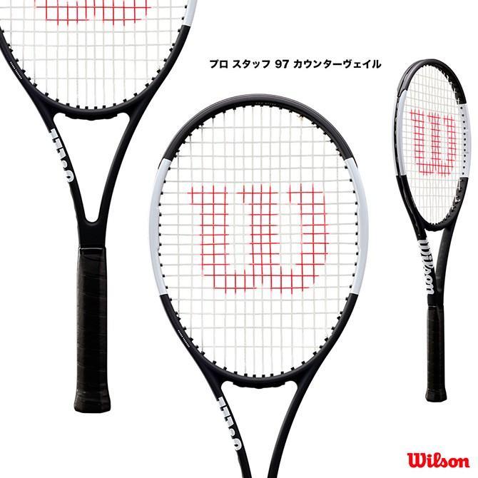 超可爱 ウイルソン STAFF Wilson テニスラケット プロ スタッフ 97 Wilson カウンターヴェイル PRO 97 STAFF 97 CV WRT741820, ユリグン:af323abd --- airmodconsu.dominiotemporario.com