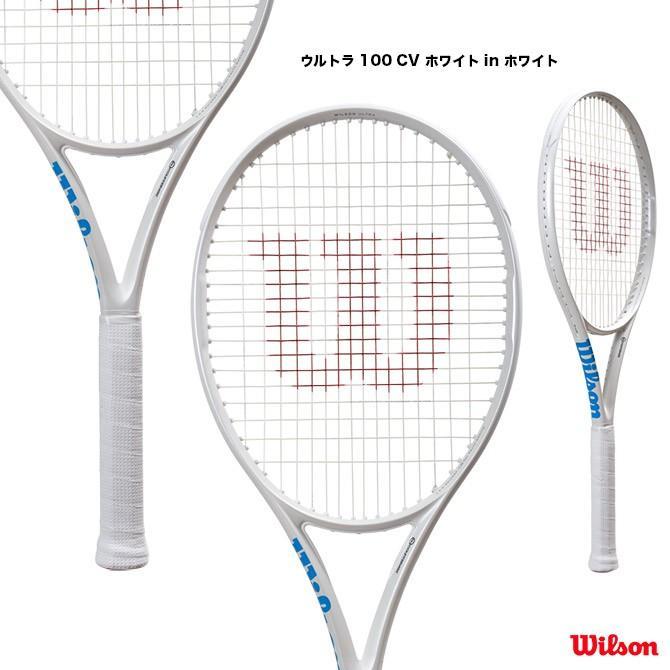 ウイルソン(Wilson) テニスラケット ウルトラ 100 カウンターヴェイル ホワイト in ホワイト ULTRA 100 CV 白い in 白い WR011011
