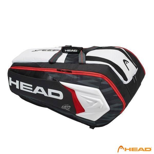 ヘッド(HEAD)ラケットバッグ12本用 ジョコビッチ12Rモンスターコンビ