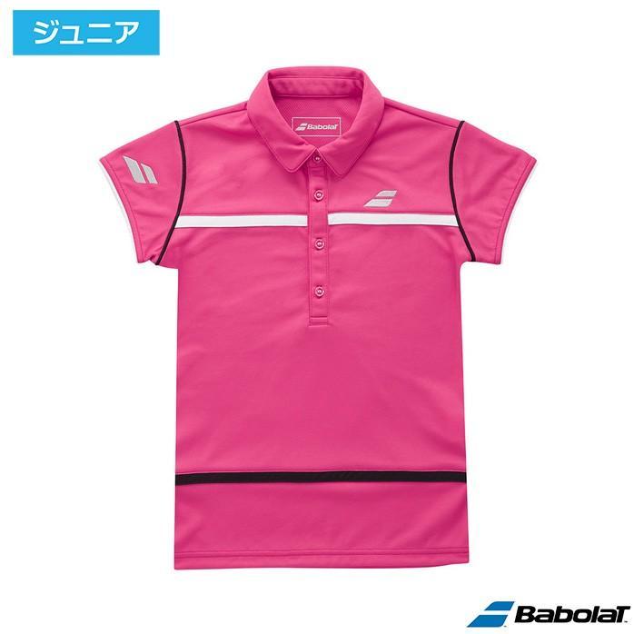 バボラ(Babolat)Jr.ゲームシャツ アザレア BTJLJA01