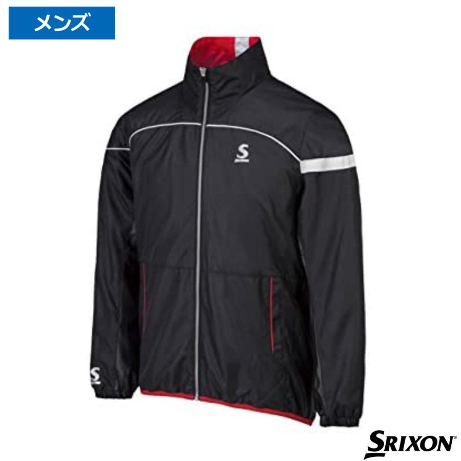 スリクソン(Srixon)ヒートナビジャケット 上下セット ブラック×ブラック SDW-4640 / SDW-4690