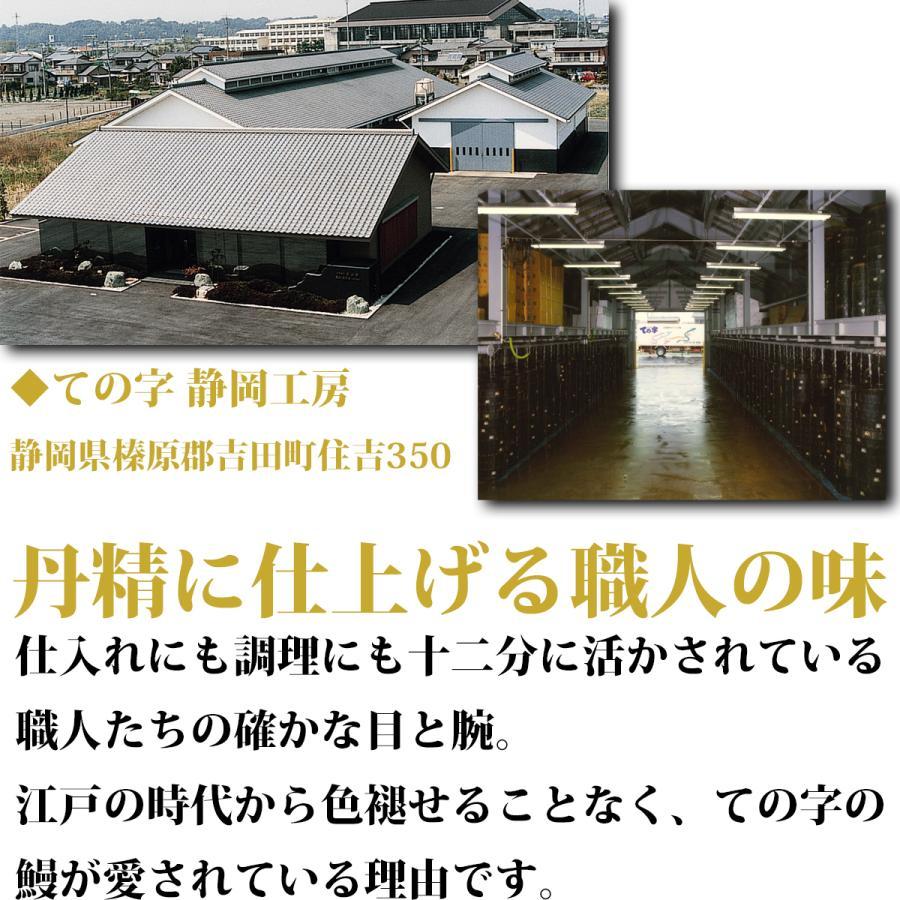 うなぎ 鰻 国産 蒲焼 ギフト プレゼント 120g×2セット ての字 化粧箱入り tenoji 06