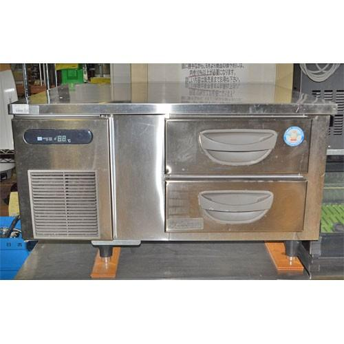 冷蔵コールドテーブル 福島工業(フクシマ) TBW-30RM2 業務用 中古/送料別途見積 幅900×奥行750×高さ600
