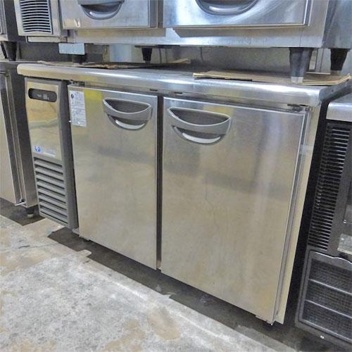 冷蔵コールドテーブル 福島工業(フクシマ) TRC-40RE 業務用 中古/送料別途見積 幅1200×奥行600×高さ800
