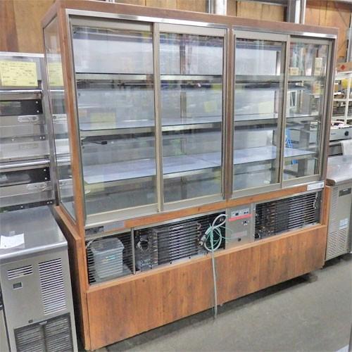 多目的冷蔵ショーケース 大穂製作所 OHGP-HC-1800 業務用 中古/送料別途見積 幅1850×奥行600×高さ1800