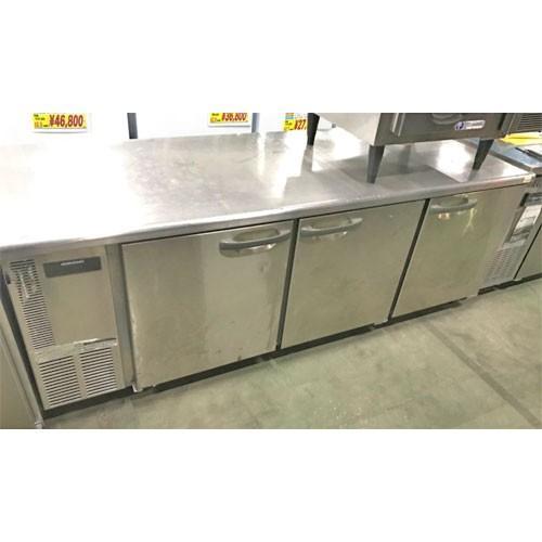 冷蔵コールドテーブル ホシザキ RT-210SDE-ML 業務用 中古/送料別途見積 幅2100×奥行750×高さ800