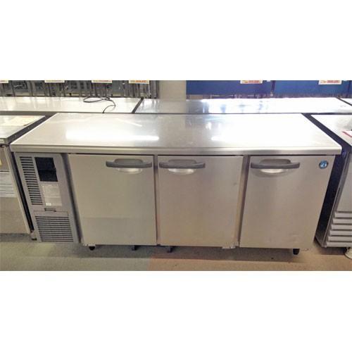 冷蔵コールドテーブル ホシザキ RT-180SDF-3 業務用 中古/送料別途見積 幅1800×奥行750×高さ800