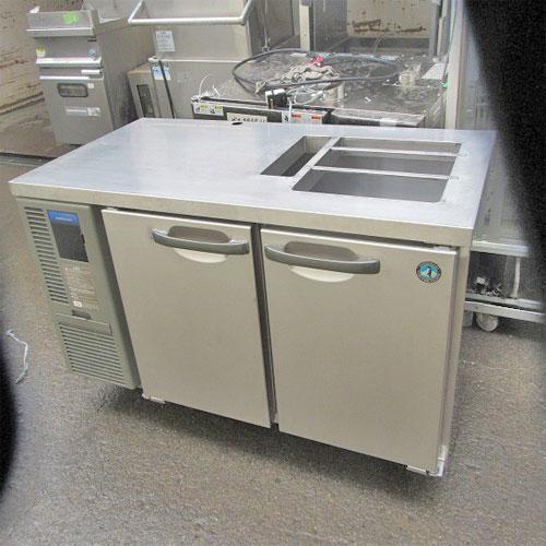 冷蔵サンドイッチコールドテーブル ホシザキ RT120SNF 業務用 中古/送料無料 幅1200×奥行650×高さ800
