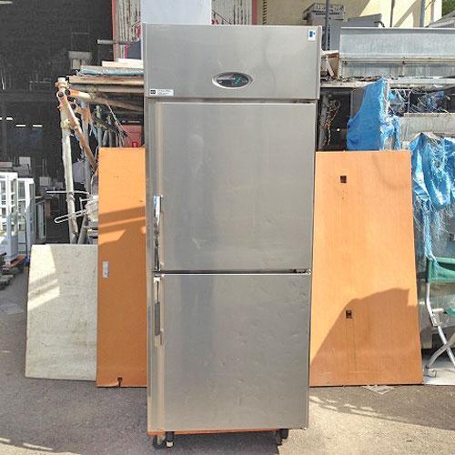 2ドア縦型冷蔵庫 フジマック FR7680J 業務用 中古/送料別途見積 幅760×奥行800×高さ1950