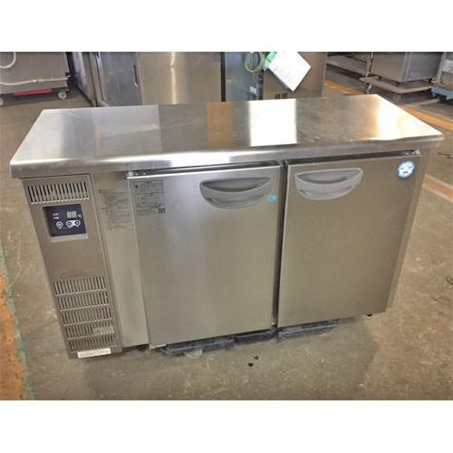 冷凍冷蔵コールドテーブル 福島工業(フクシマ) TMU-41PE2 業務用 中古/送料無料 幅1200×奥行450×高さ800