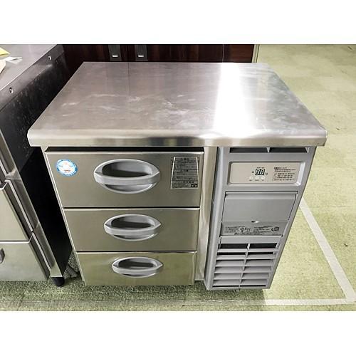 冷凍ドロワーコールドテーブル 福島工業(フクシマ) YDC-083FM2-R 業務用 中古/送料別途見積 幅755×奥行600×高さ800