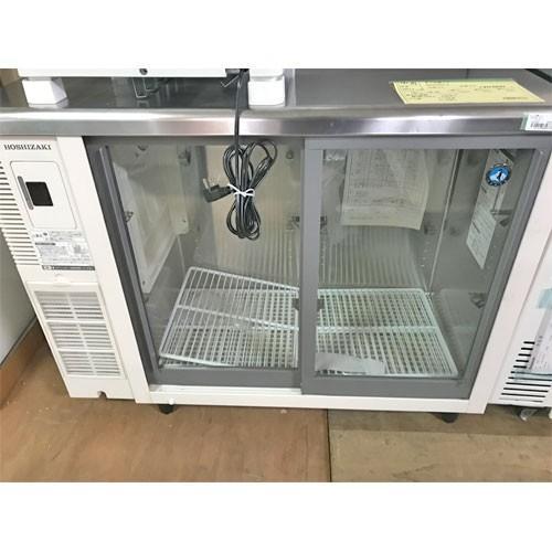 台下冷蔵ショーケース ホシザキ RTS-100STB2 業務用 中古/送料別途見積 幅1000×奥行450×高さ800
