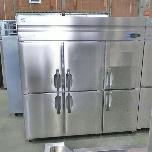 縦型冷凍冷蔵庫 ホシザキ HRF-180ZF3 業務用 中古/送料別途見積 幅1800×奥行800×高さ1890